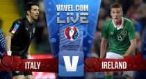 Italia 0-1 República de Irlanda: un cabezazo de Brady prolonga el sueño irlandés
