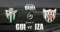 Guijuelo - Izarra: despedida con jamón y 'Copa'