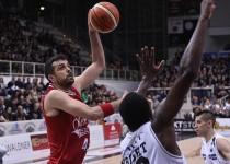 Basket, Serie A Beko: Gentile all'ultimo secondo porta Milano in semifinale
