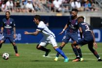 Il Psg supera l'Inter a Eugene: spicca Jovetic, male Handanovic