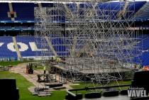 El RCDE Stadium está listo para recibir a Marc Anthony