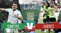 Santos vs Juárez en vivo online en Copa MX 2016 (0-0)