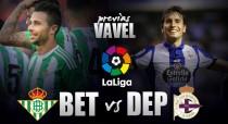 Previa Real Betis vs RC Deportivo de La Coruña: volver a conquistar el Villamarín