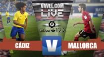 Resultado Cádiz vs Mallorca en vivo y en directo online en Segunda División 2016