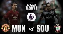 Previa Manchester United - Southampton: los saints visitan al líder