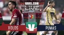 Xolos de Tijuana vs Pumas en vivo online en partido Liga MX 2016 (0-0)