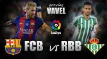 Previa FC Barcelona - Real Betis: prueba de fuego para empezar