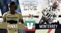Pumas exhibe a Monterrey; Britos anota 3 goles