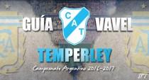 Guía Temperley VAVEL 2016/2017