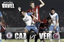 Previa Cruz Azul - Veracruz: por la victoria de locales