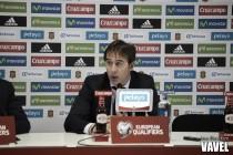"""Julen Lopetegui: """"Los consejos de Vicente se escuchan y se agradecen con mucho respeto"""""""