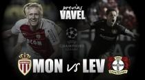 Previa As Mónaco - Bayer 04 Leverkusen: lucha entre dos aspirantes por el primer puesto