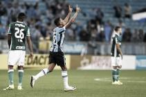 Grêmio vence Palmeiras, mas deixa classificação em aberto na Copa do Brasil