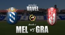 UD Melilla - Granada CF 'B' : en busca de resurgir ante un invicto