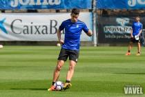 Marc Roca con el punto de mira en el Sporting