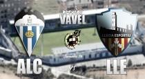 Previa CD Alcoyano - Lleida Esportiu : sensaciones diferentes