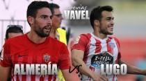 Previa Almería - Lugo: victoria como sinónimo de calma