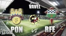 Pontevedra CF- Racing de Ferrol: la buena racha contra la fortaleza en casa