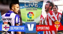 Deportivo de la Coruña vs Real Sporting de Gijón 2016 online en Primera División