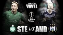 Previa. Saint-Etienne - Anderlecht: Continúa el sueño europeo.