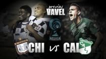 Boyacá Chicó - Deportivo Cali: el visitante busca levantar cabeza
