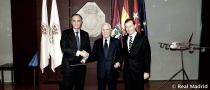 El Real Madrid y La Caixa renuevan su convenio por las escuelas sociodeportivas de fútbol