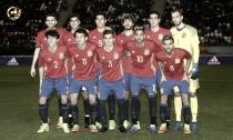 Gayá capitaneó a España sub-21 en su triunfo ante Dinamarca