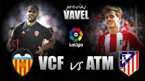 Previa Valencia CF - Atlético de Madrid: duelo de tendencias positivas