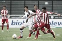 Pela Copa do Brasil Sub-20, Vasco empata com o Náutico e deixa a competição