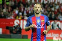 Mascherano alcanza los 300 partidos oficiales con el Barcelona