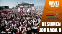Resumen de la jornada 9 de la Eredivisie