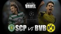 Sporting Lisbona - Borussia Dortmund: alla caccia del secondo posto