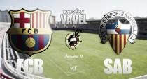 Previa FC Barcelona B – CE Sabadell: a romper la mala racha