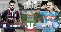 Resultado Crotone vs Napoli en vivo y en directo