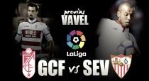 Previa Granada FC - Sevilla FC: Cuidado con el hombre herido