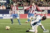 Atlético de Madrid - Espanyol: puntuaciones del Atleti; jornada 14