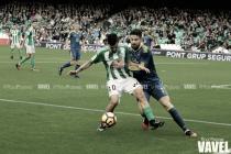 Así han vivido Pezzella y Ceballos el Real Betis vs Celta