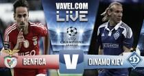 Salvio da alas al Benfica frente al Dinamo de Kiev