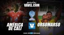 América vs. Orsomarso: los 'escarlatas' quieren reafirmar su liderato