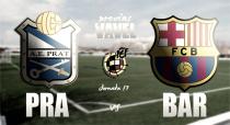 AE Prat - FC Barcelona B: duelo complicado antes del derbi