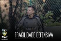 Fragilidade defensiva fora de casa pode ser um problema para Atlético-MG contra o Grêmio