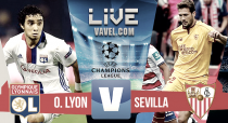 Resultado Olympique de Lyon vs Sevilla en vivo en UEFA Champions League 2016 (0-0)