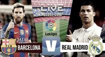 Partido Barcelona vs Real Madrid en vivo y en directo online en La Liga 2016