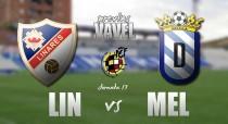 Linares Deportivo - UD Melilla: sin margen para el error
