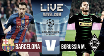 Partido Barcelona vs Borussia Mönchengladbach en vivo y en directo online en Champions 2016