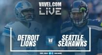 Resultado Detroit Lions x Seattle Seahawks pela NFL 2016/17 (6-26)