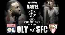 Previa Olympique de Lyon-Sevilla: en juego los octavos de final de la Champions League