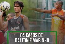 Ex-Fluminense, Marinho e Dalton passaram por transferências polêmicas rumo ao Internacional