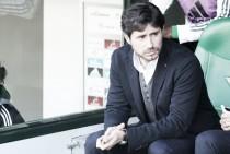 """Víctor Sánchez del Amo: """"Estamos en Primera División, nunca vas a ganar sin sufrimiento"""""""