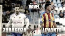 Previa Real Zaragoza - Levante UD: en busca de otra victoria a domicilio